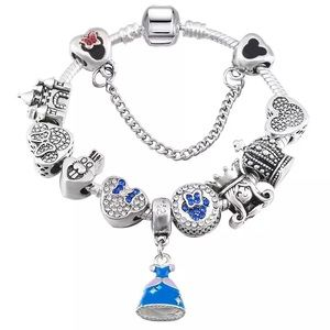 Jewelry - Alice and Wonderland Theme Charm Bracelet